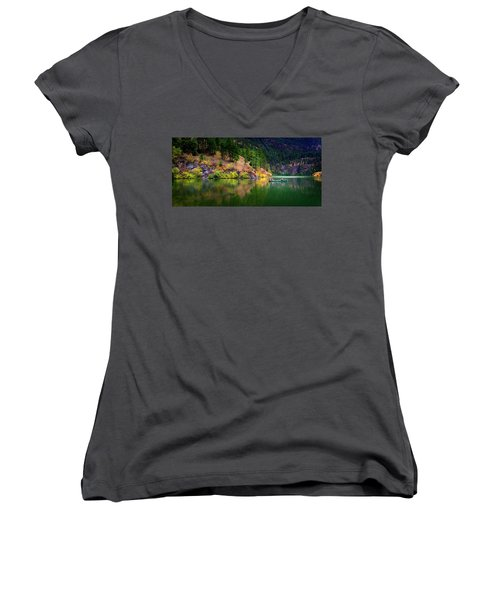 Women's V-Neck T-Shirt featuring the photograph Life Is But A Dream by John Poon