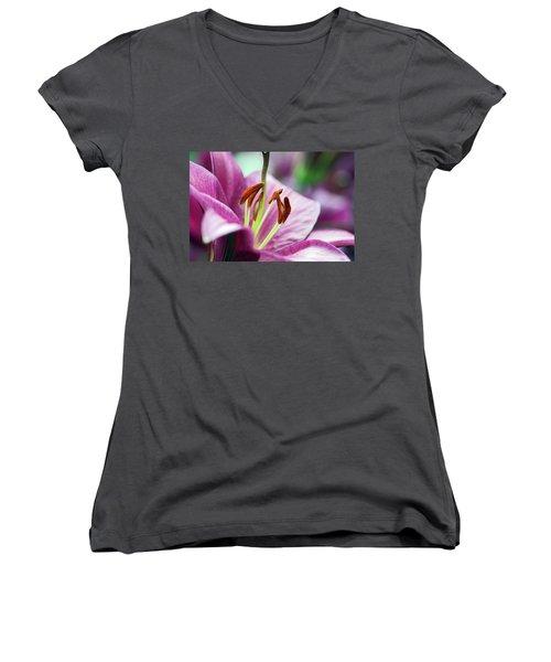 Lovely Lily Women's V-Neck (Athletic Fit)