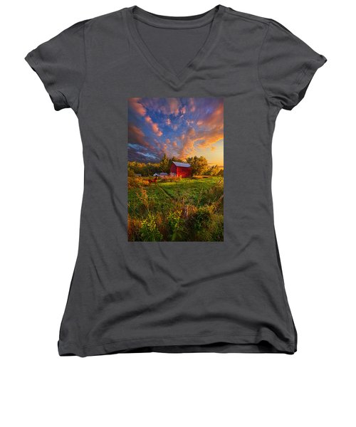 Love's Pure Light Women's V-Neck