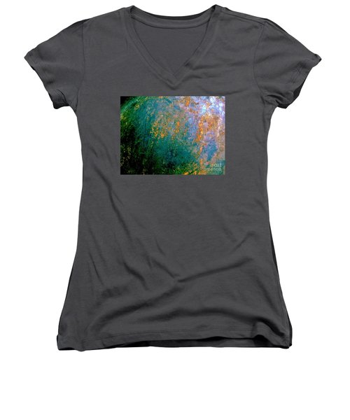 Lush Foliage Women's V-Neck T-Shirt