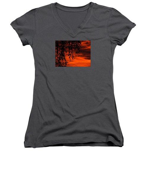 Lustre Women's V-Neck T-Shirt