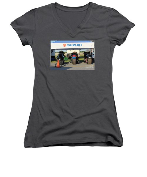 Mancup 8th 2016 Women's V-Neck T-Shirt