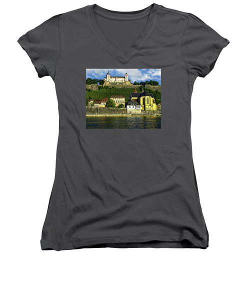 Marienberg Fortress Women's V-Neck