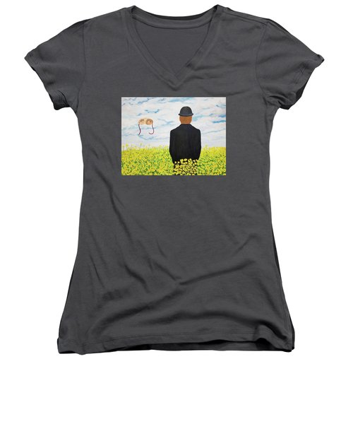 Memories Of June Women's V-Neck