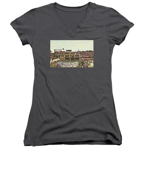 Miramar Saltwater Pool  Women's V-Neck T-Shirt