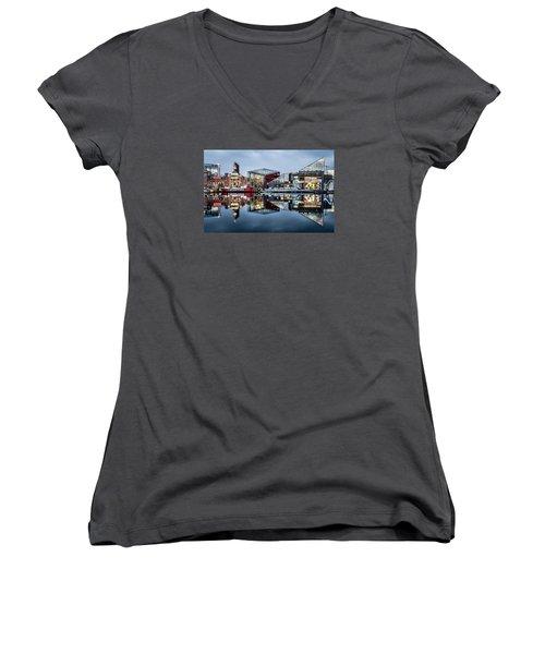 More Baltimore Women's V-Neck T-Shirt