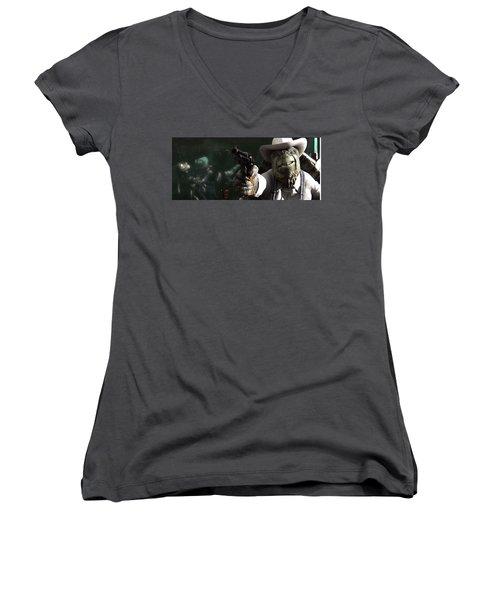 Movie Women's V-Neck