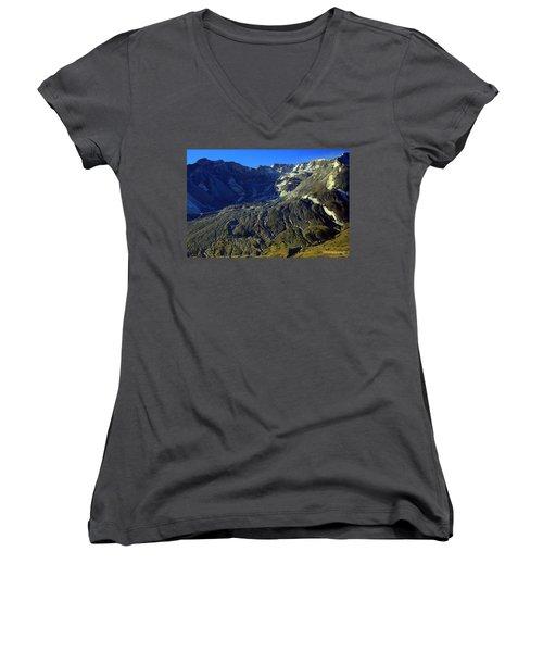 Mt. St. Helens Women's V-Neck T-Shirt