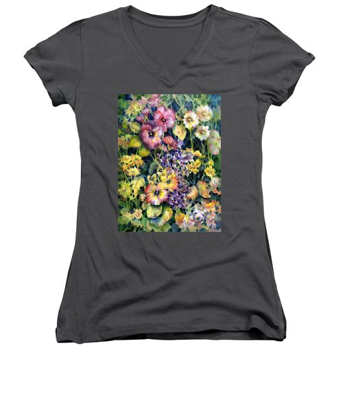 My Garden Women's V-Neck (Athletic Fit)
