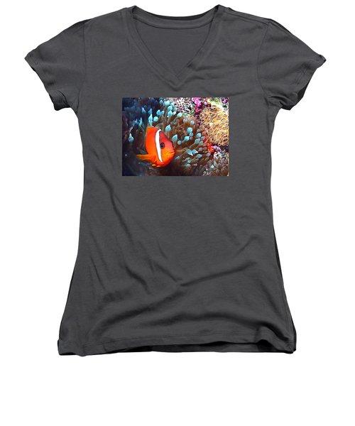 Nemo Women's V-Neck T-Shirt