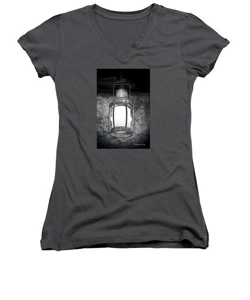 No Title Women's V-Neck T-Shirt