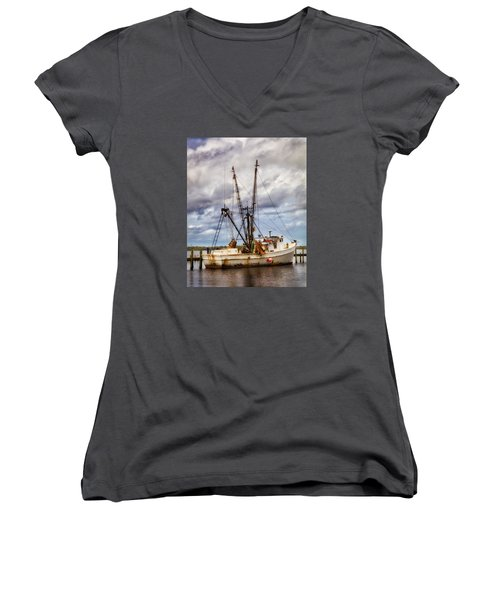 Off Season Women's V-Neck (Athletic Fit)