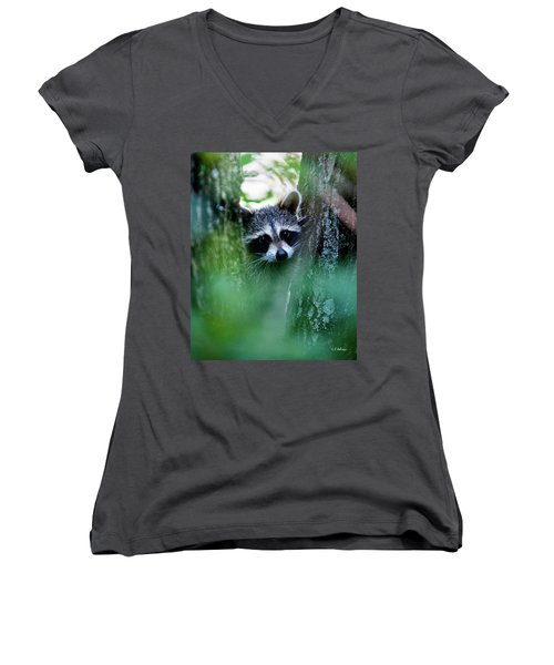 On Watch Women's V-Neck