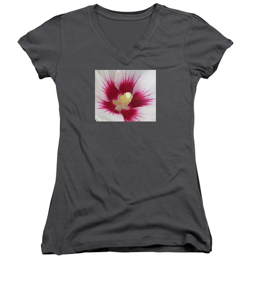 Open Wide Women's V-Neck (Athletic Fit)