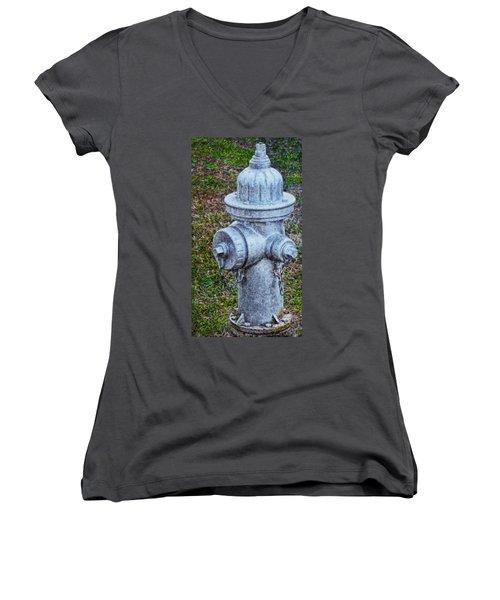 Painted Fireplug Women's V-Neck T-Shirt