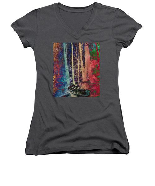 Path Women's V-Neck