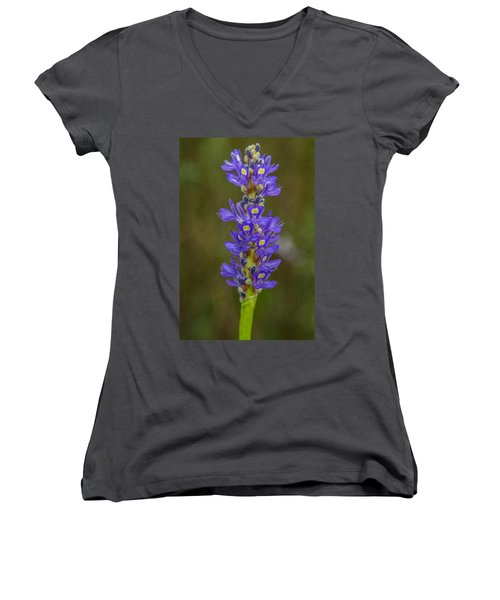 Pickerel Weed Women's V-Neck (Athletic Fit)