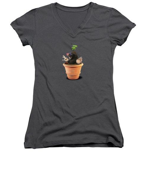 Pot Women's V-Neck