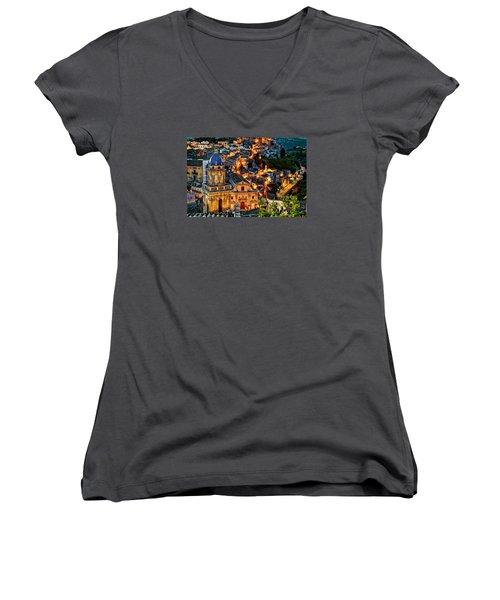 Ragusa Ilba Women's V-Neck T-Shirt