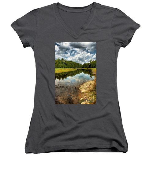 Reflection Of Nature Women's V-Neck (Athletic Fit)