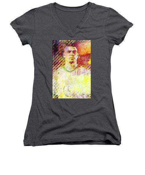 Ronaldo Women's V-Neck T-Shirt