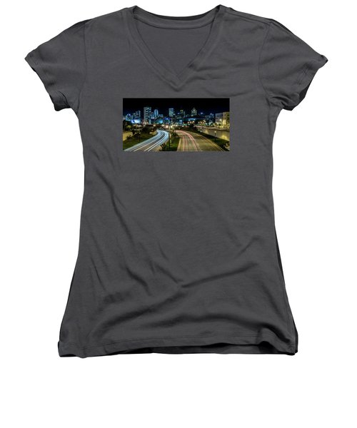 Round The Bend Women's V-Neck (Athletic Fit)