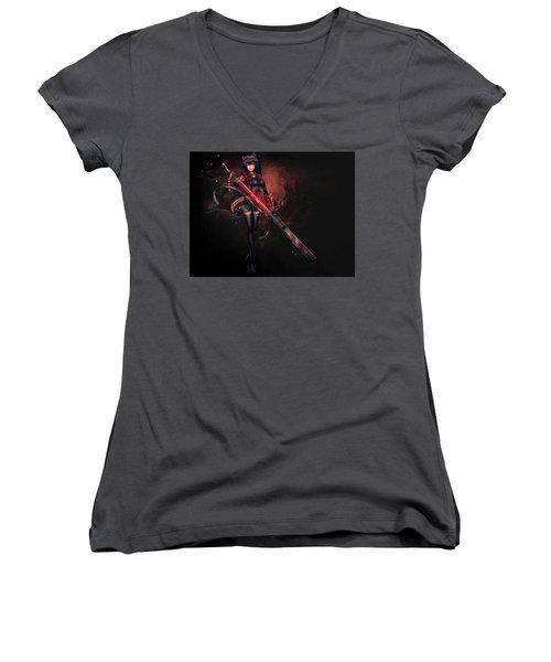 Rwby Women's V-Neck T-Shirt