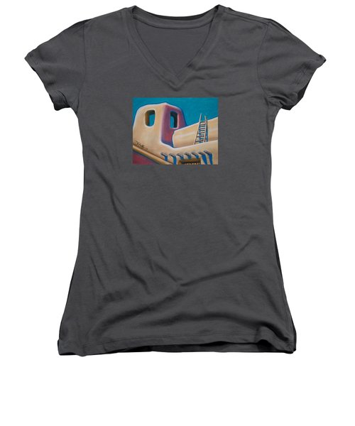 Santa Fe Style Women's V-Neck (Athletic Fit)