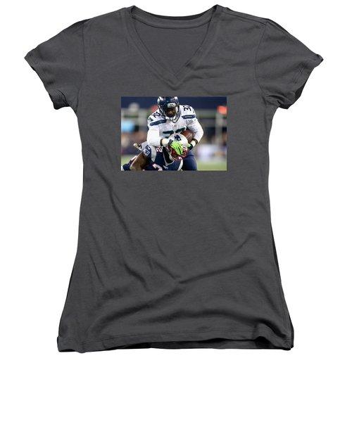 Seattle Seahawks Women's V-Neck