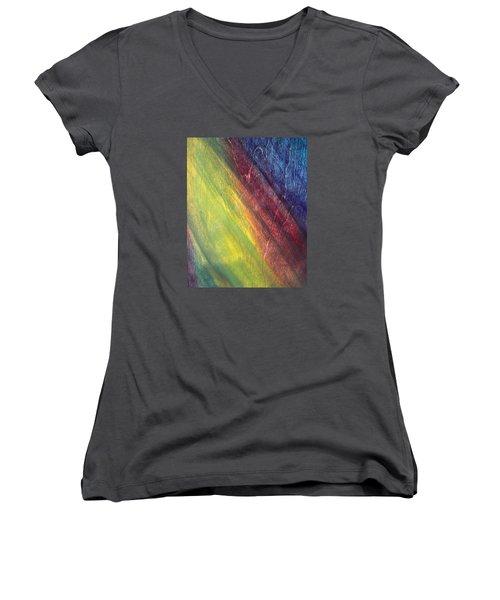 Against The Grain Women's V-Neck T-Shirt (Junior Cut)