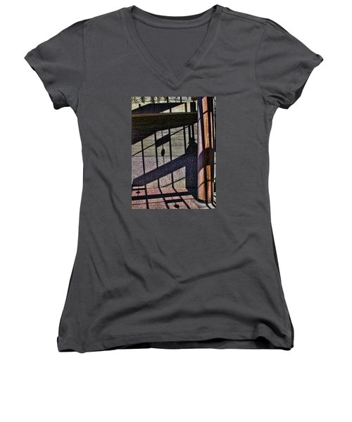Shadows Women's V-Neck T-Shirt