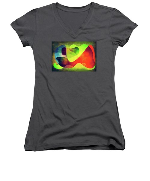 Shapes 3 Women's V-Neck