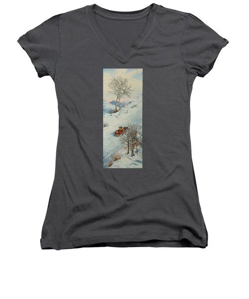 Sisters Solstice Women's V-Neck (Athletic Fit)