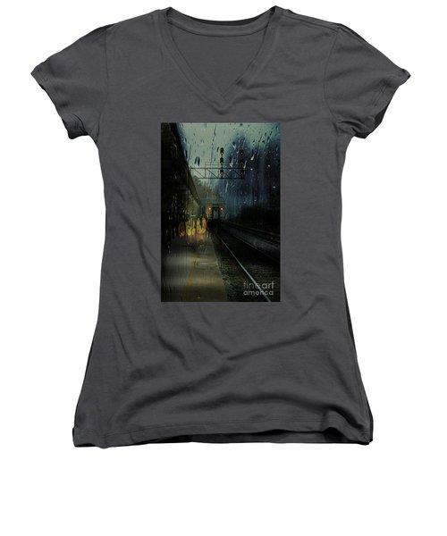 Someone Said Goodbye Women's V-Neck T-Shirt