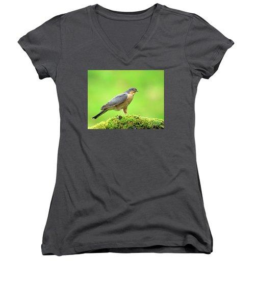 Sparrowhawk Women's V-Neck (Athletic Fit)