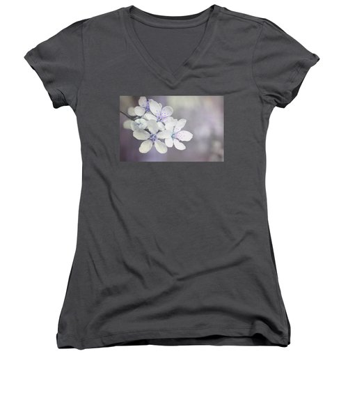 Spring Tenderness Women's V-Neck (Athletic Fit)