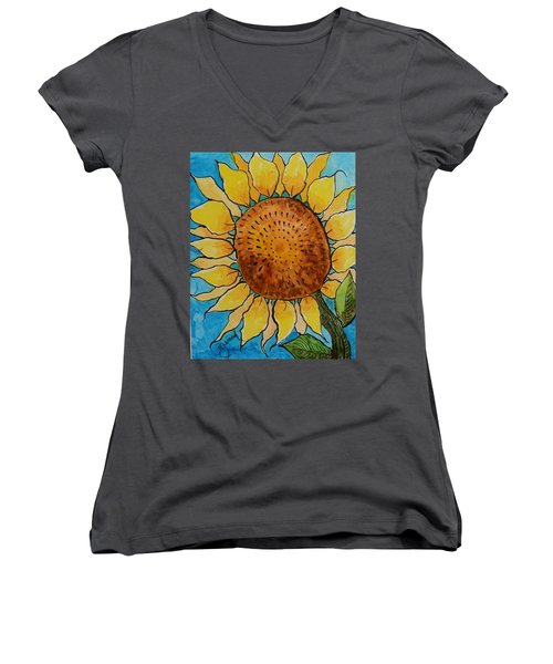 Sunny Women's V-Neck (Athletic Fit)