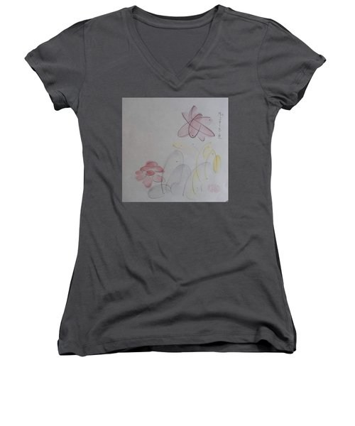 Take It Easy Women's V-Neck (Athletic Fit)