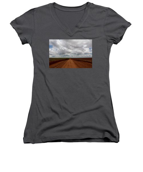 Texas Red Road Women's V-Neck