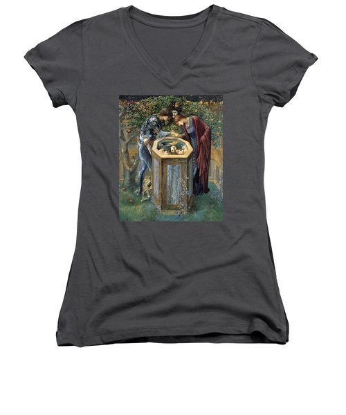 The Baleful Head Women's V-Neck (Athletic Fit)