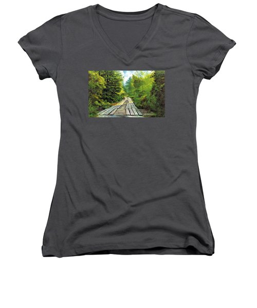 The Mcneely Bridge Women's V-Neck