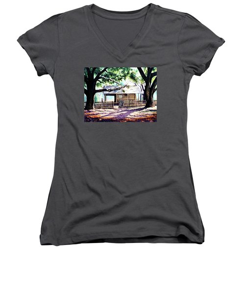 The Old Richardson Place Women's V-Neck