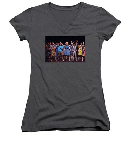 Tpa097 Women's V-Neck T-Shirt