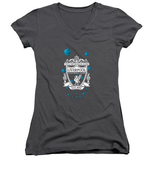 Tribute To Liverpool 4 Women's V-Neck