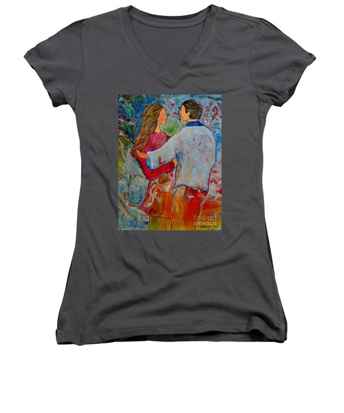 Trusting You Women's V-Neck (Athletic Fit)