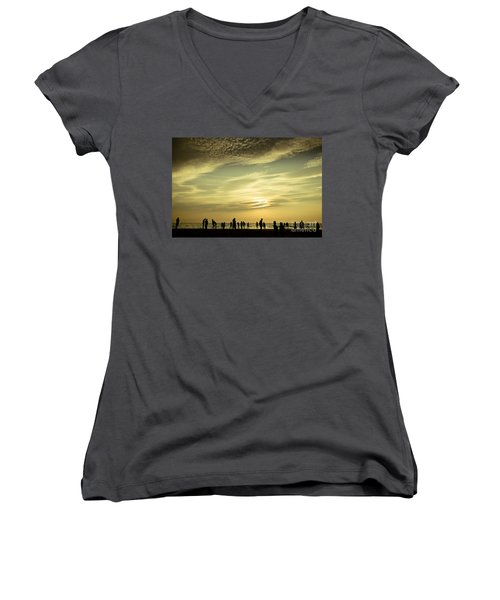 Vanilla Sky Women's V-Neck