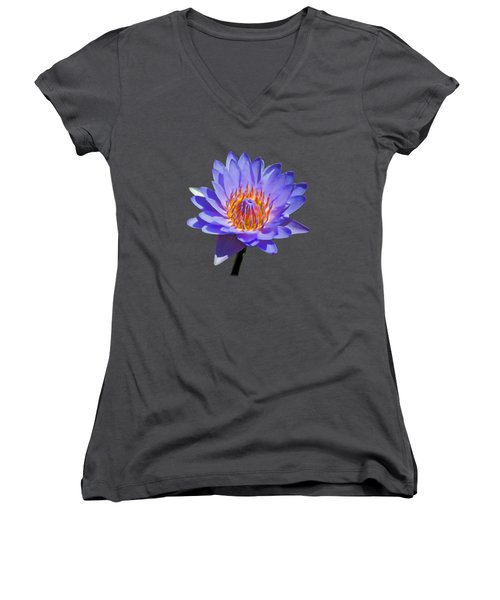 Water Lily Women's V-Neck