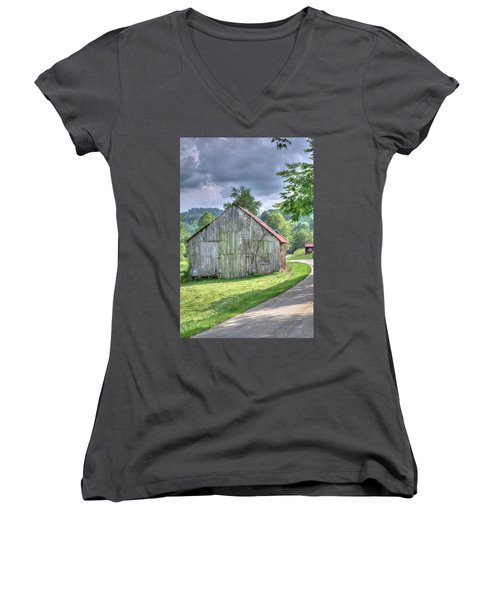 Wells Barn 13 Women's V-Neck (Athletic Fit)
