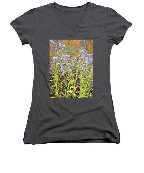 Women's V-Neck T-Shirt (Junior Cut) featuring the photograph Whimsy by Deborah  Crew-Johnson