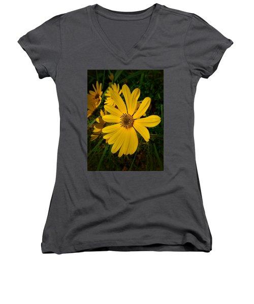 Wild Yellow Women's V-Neck